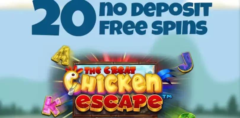 20 free spins utan registrering